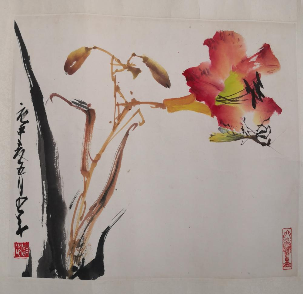A CHINESE PAINTING BY ZHAO SHAOANG