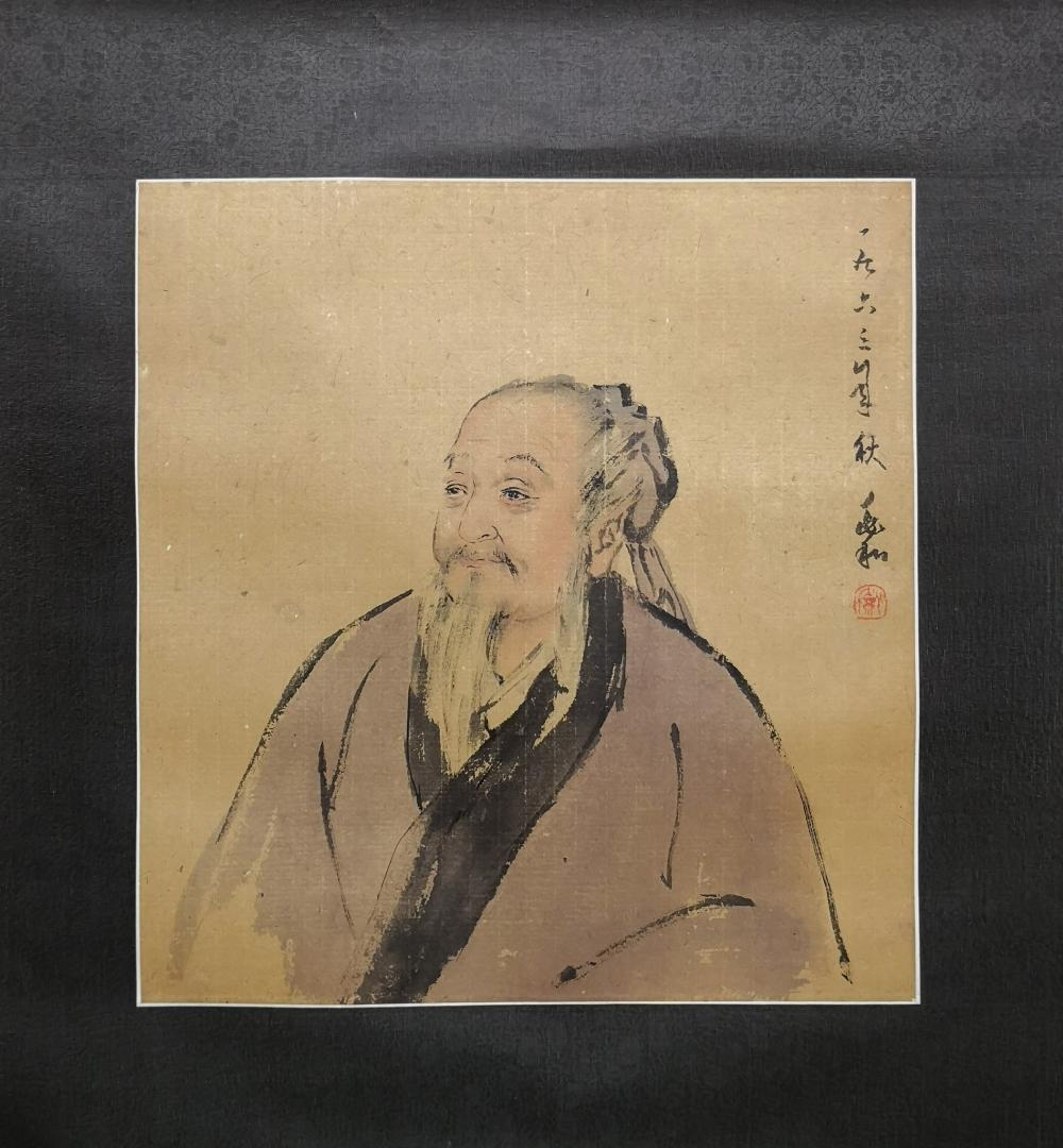 A CHINESE PAINTING BY JIANG ZHAOHE