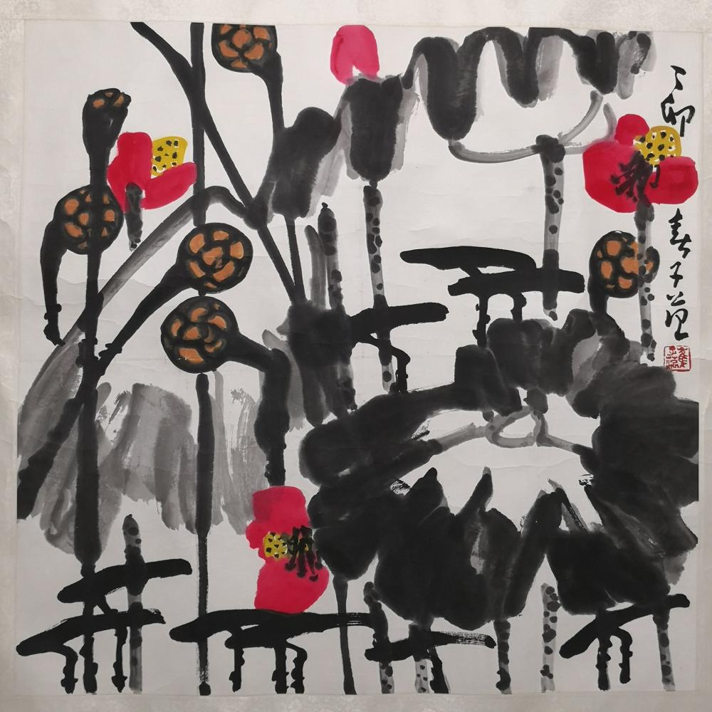 A CHINESE PAINTING BY CUI ZIFAN