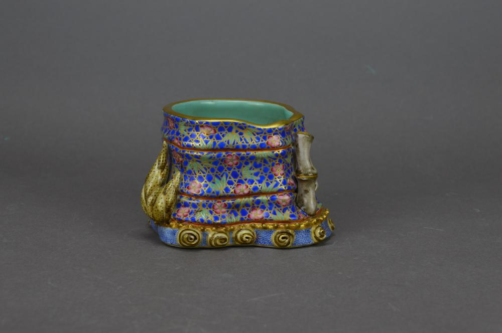A Porcelain Brush Pot