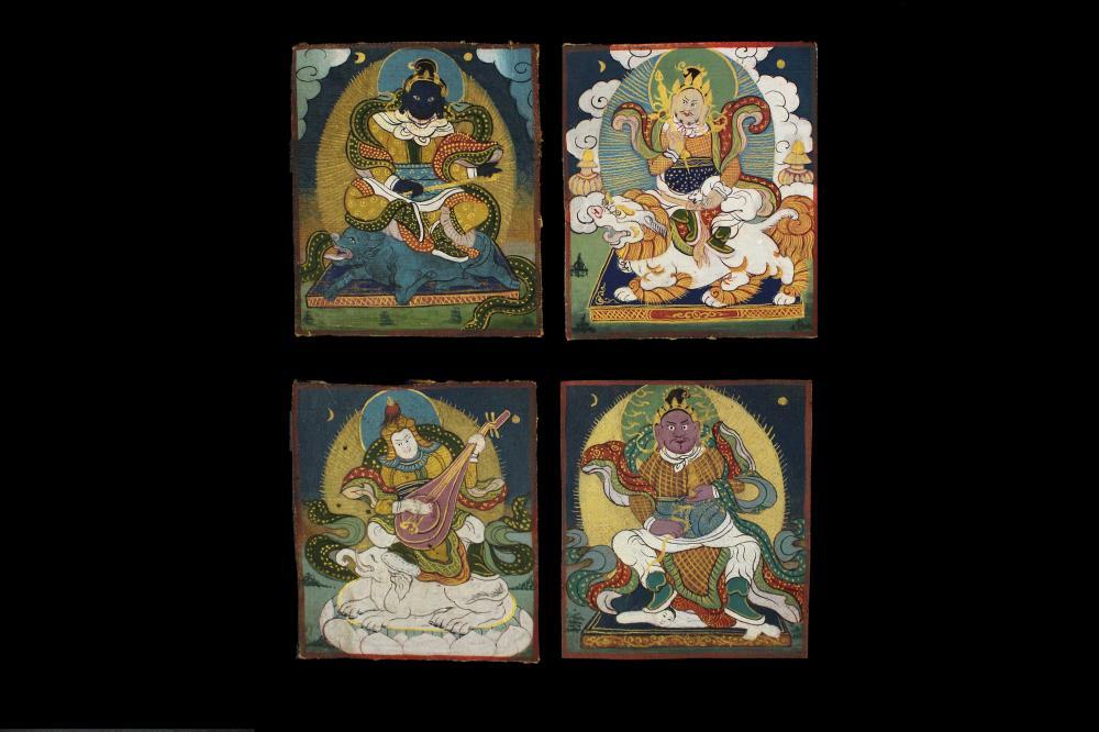 A Tibetan Mini Thangka
