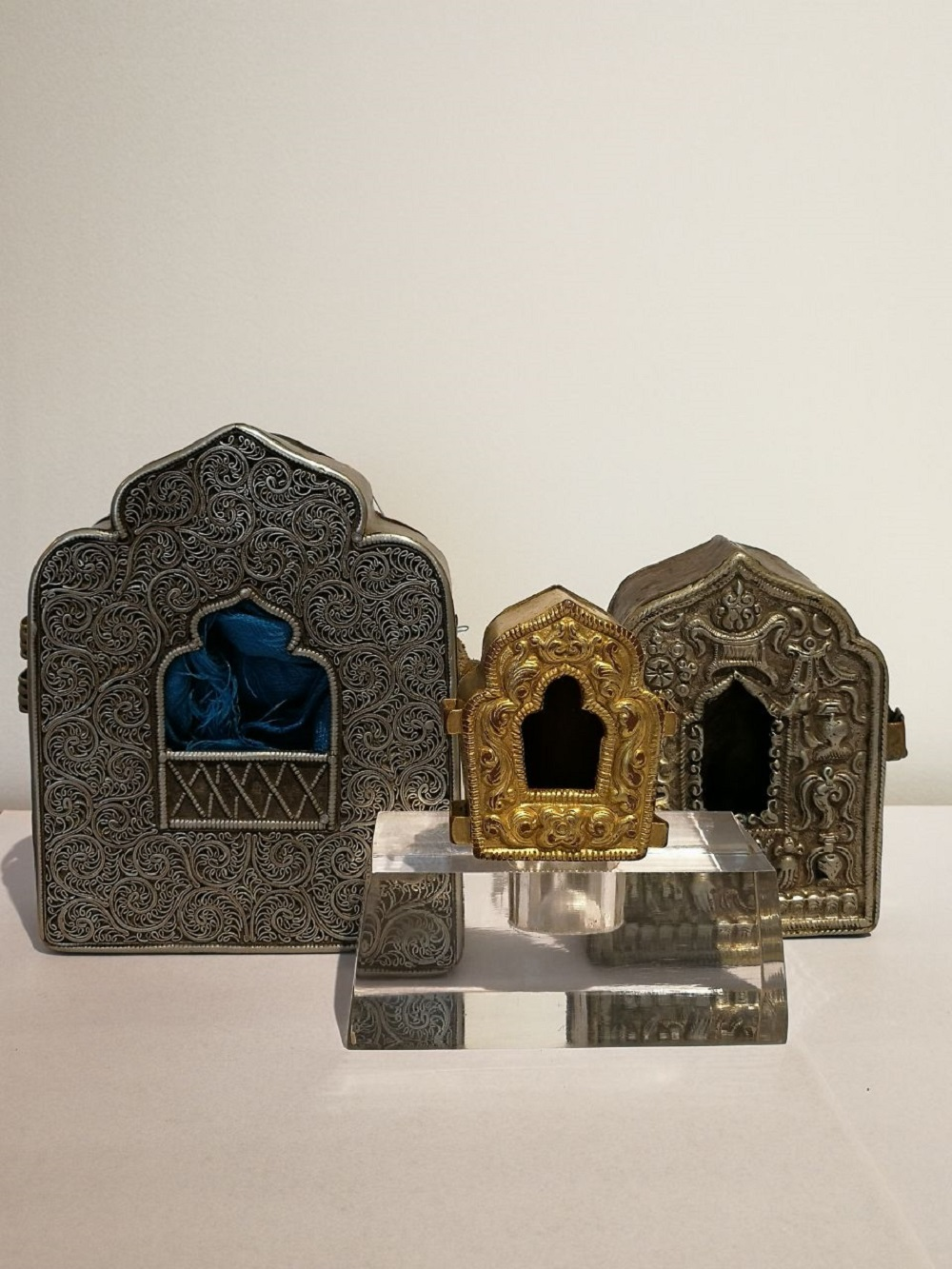 3 pcs of Gawu boxes (Qing Dynasty)