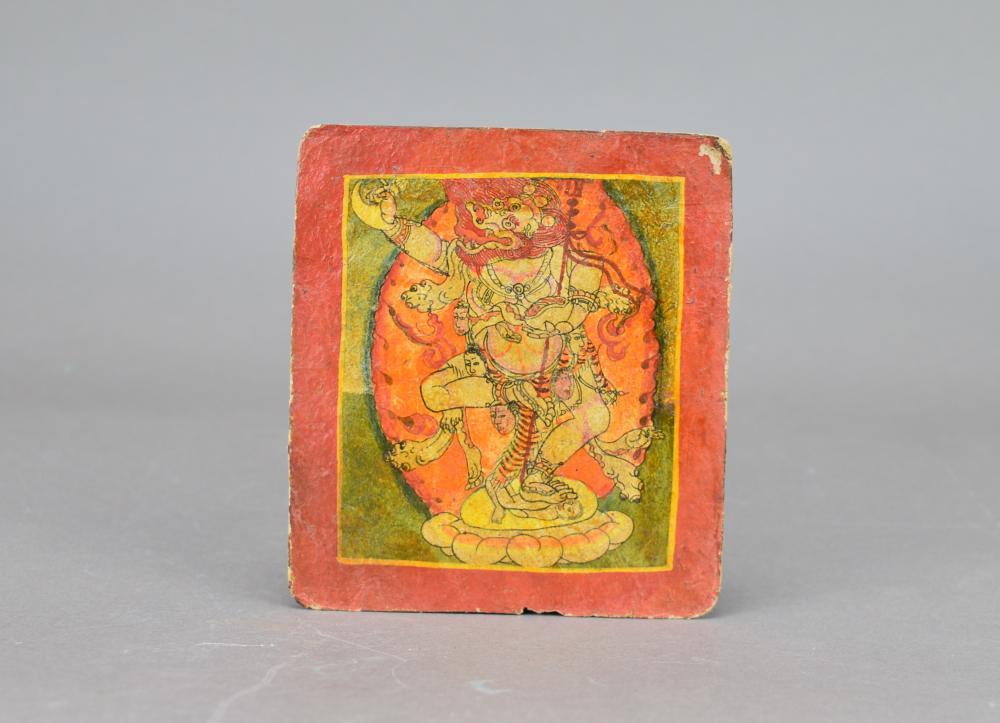 Two Tibetan TangKa