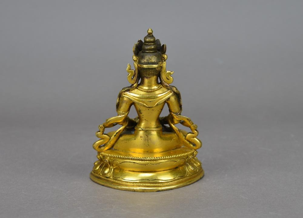 A Tibetan Buddha Statue
