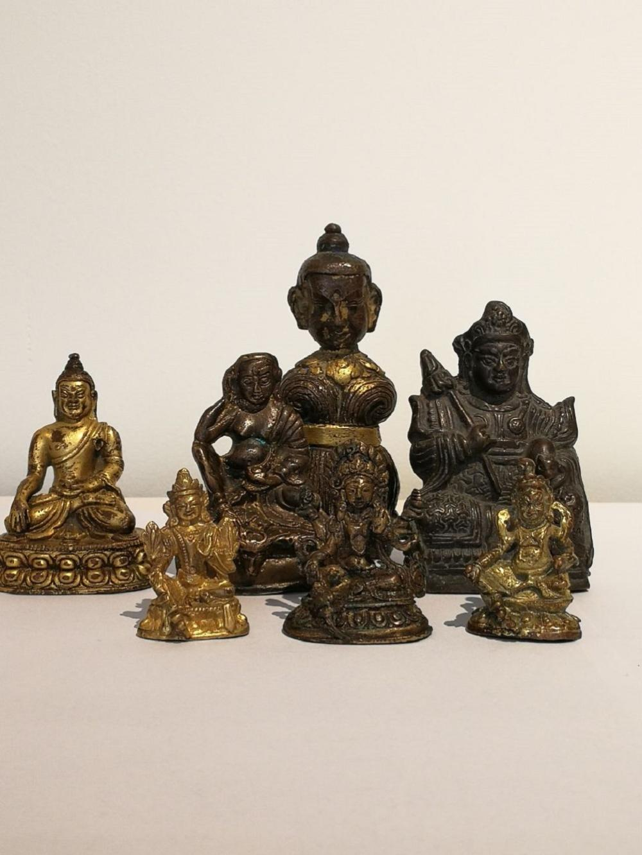 One set of Tibetan Buddha Statues (Ming - Qing Dynasty)