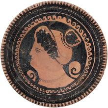 Apulian Terracotta Footed Plate