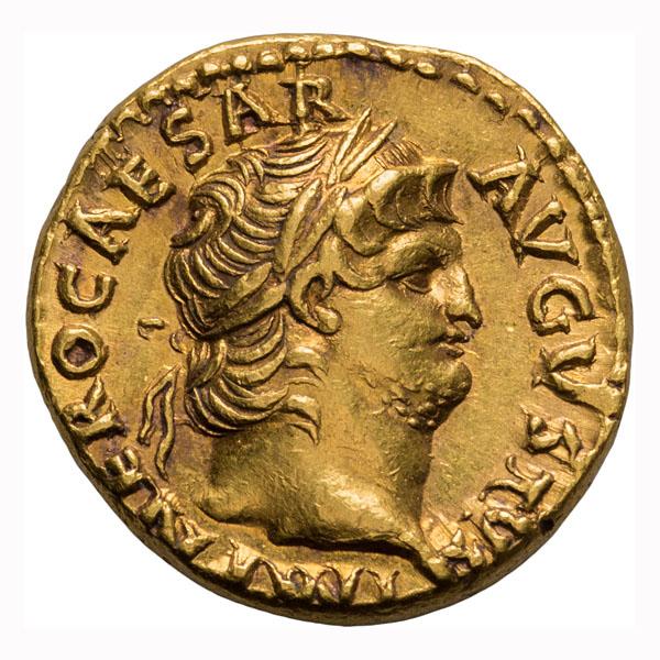 Nero; 54-68 AD  Aureus  Rome  66-7 AD  7.270. EF.