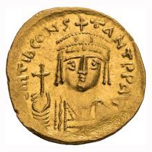 Tiberius II; Siliqua  Antioch  578-582 AD  4.120. VF.