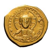 Constantine IX; AU tetarteron nomisma  Constantinople  4.030. VF.