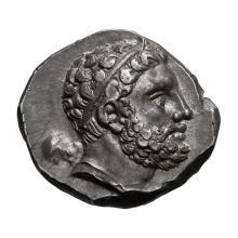 Lucania  Metapontum; AR Nomos  c. 290-280 BC  7.920. EF.
