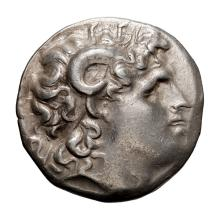 Thrace  Lysimachus; Tetradrachm  297-282 BC  16.900. VF.