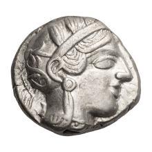 Attica  Athens; Tetradrachm  430 BC  17.060. EF.