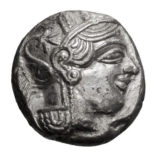 Attica  Athens; Tetradrachm  c. 425 BC  17.000. MS.