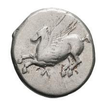 Acarnania  Leucas; Stater  330-300 BC  8.350. F.