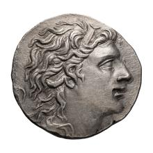 Pontic  Mithradates VI; Tetradrachm  120-36 BC. Year 226= 72/71 BC  16.630. MS.
