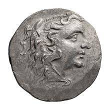 Pontic  Mithradates VI; Tetradrachm  Odessus  c. 125-70 BC  15.850. EF.