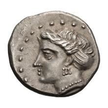 Paphlagonia  Sinope; Drachm  333-300 BC  4.920. EF.