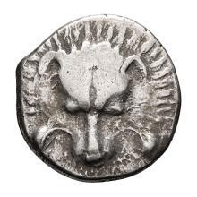 Lycia  Possibly Wedri; AR Tetrobol  c. 400-380 BC  3.170. EF.