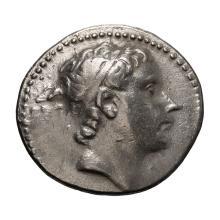 Syria  Antiochus III; Tetradrachm  Tarsus  c. 215 BC  16.990. VF.
