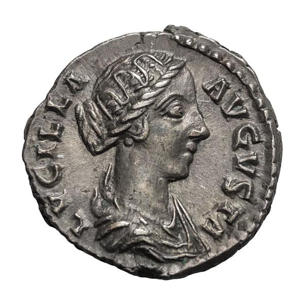 Lucilla; Denarius  Rome  3.310. MS.