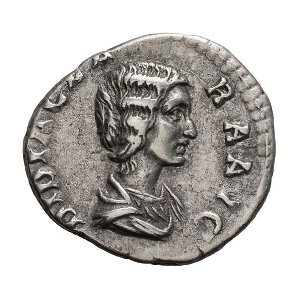 Didia Clara; Denarius Rome 2.560. VF.