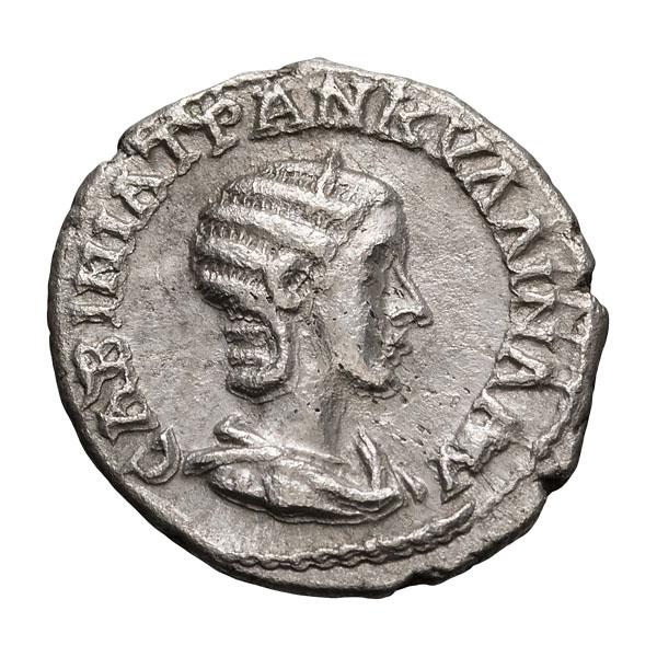 Tranquillina; Drachm  Year 4=241 AD  3.190. EF.