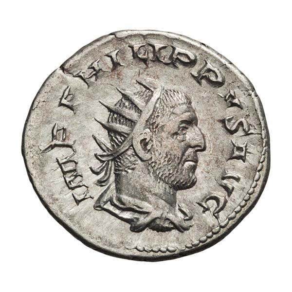 Philip I; 244-249 AD  Antoninianus  Rome  248 AD  3.090. EF.