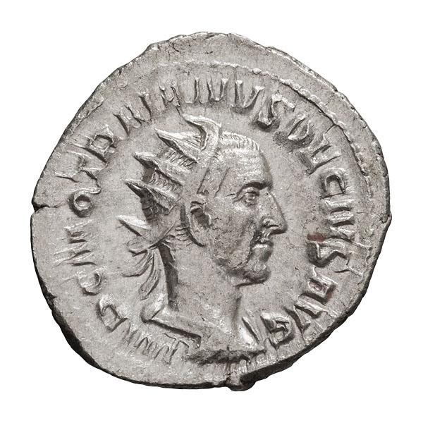 Trajan Decius; 249-251 AD  Antoninianus  Rome  3.900. EF.