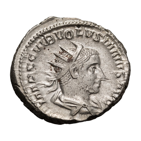 Volusian; 251-253 AD Antoninianus Branch Mint 4.600.