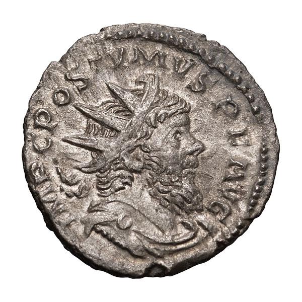 Postumus; 260-268 AD  Antoninianus  266-7 AD  3.290. EF.