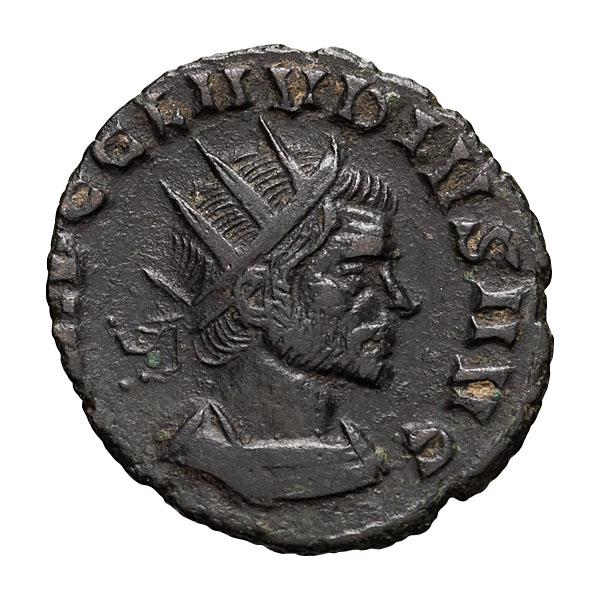 Claudius II Gothicus; 268-270 AD Antoninianus Rome 2.160. EF.