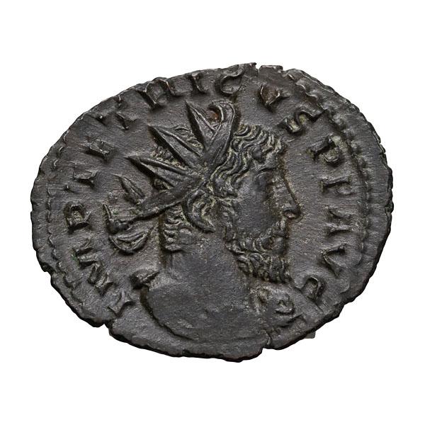Tetricus I; 270-273  AD  Antoninianus  1.510. EF.