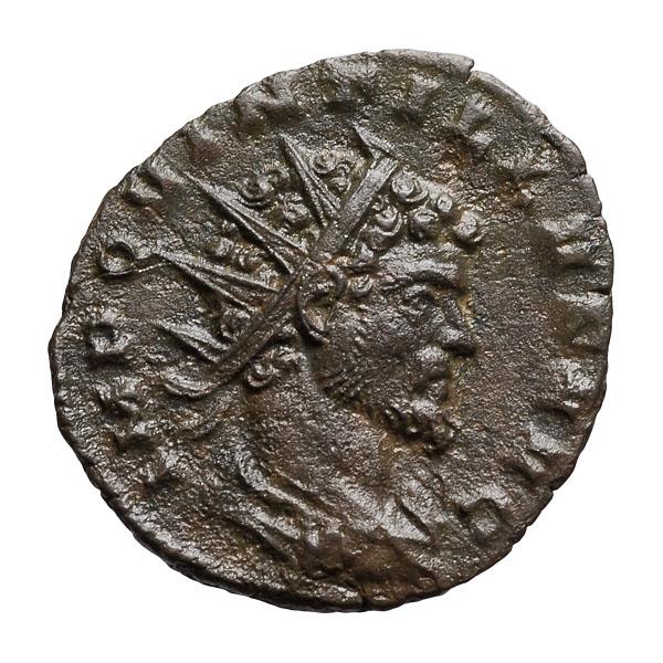 Quintillus; 270 AD  Antoninianus  Milan  2.920. EF.