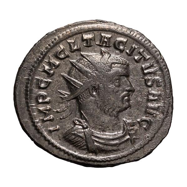 Tacitus; 275-276 AD Antoninianus Rome 3.710. EF.