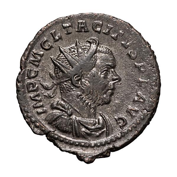 Tacitus; 275-276  AD  Antoninianus  Lugdunum  3.520. MS.