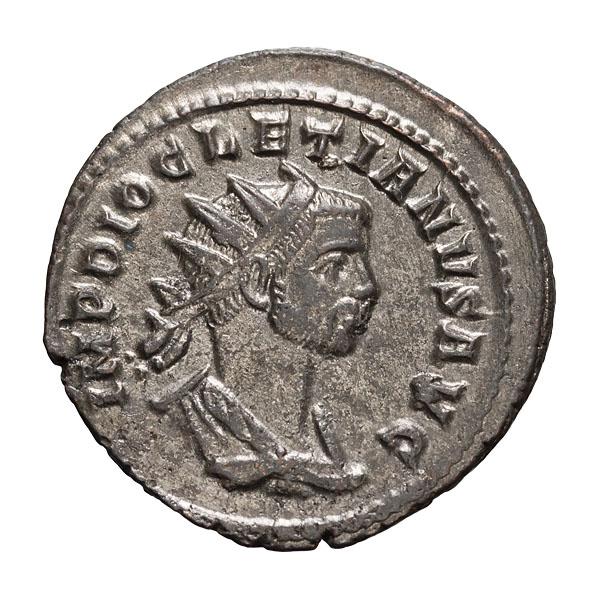 Diocletian; 284-305 AD Antoninianus Rome 286 AD 3.570. MS.