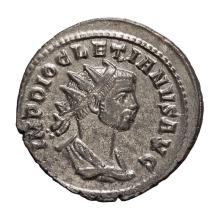 Diocletian; 284-305 AD  Antoninianus  Rome  286 AD  3.570. MS.