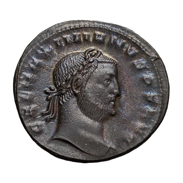 Galerius; 305-311 AD  Follis  Cyzicus  308-9 AD  6.070. MS.