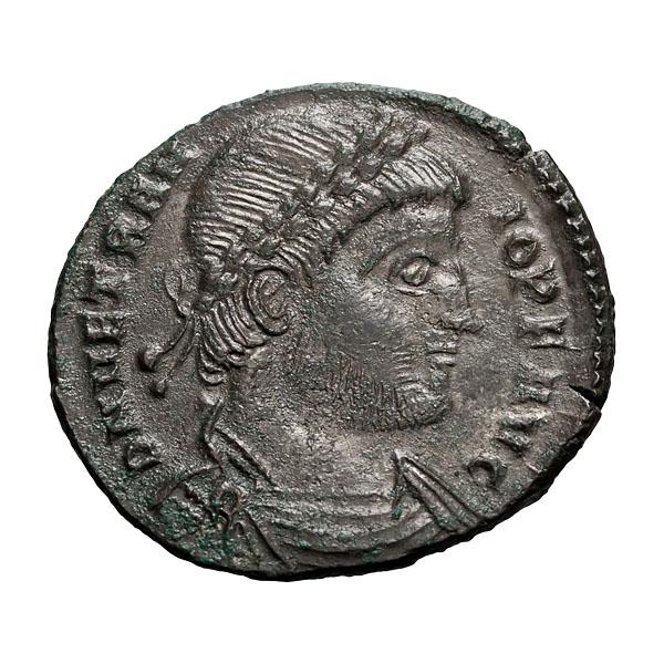 Vetranio; 350 AD  Centenionalis  Thessalonica  4.870. MS.