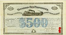 Township of New Providence - Passaic Valley and Peapack Rail Road Company