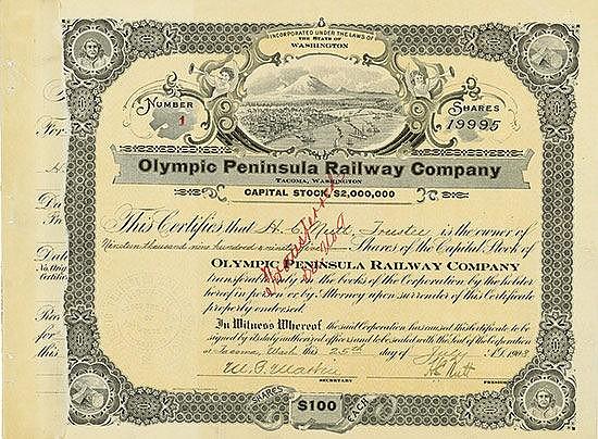 Olympic Peninsula Railway Company