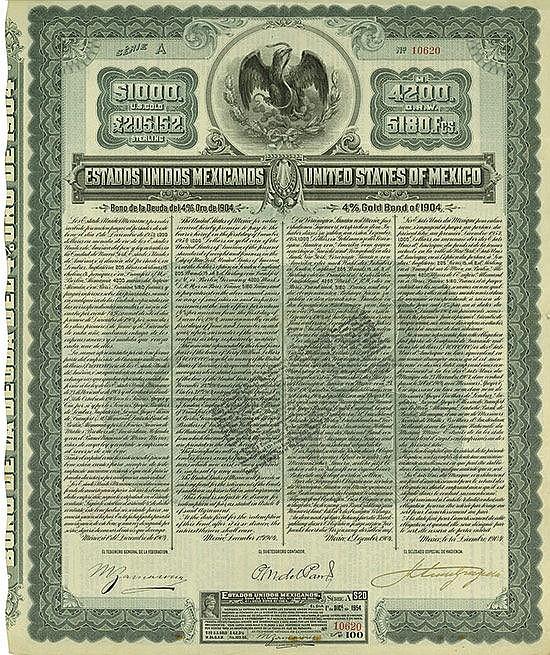 Estados Unidos Mexicanos / United States of Mexico