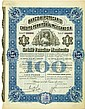 Banco Hipotecario de Crédito Territorial Mexicano, S. A. / Crédit Foncier Mexicain [4 Stück]
