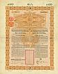 Chinese Imperial Government / Kaiserlich Chinesische Staatsanleihe (Kuhlmann 81/84) [2 Stück]