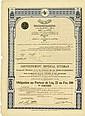 Gouvernement Impérial Ottoman / Chemin de Fer Soma-Panderma