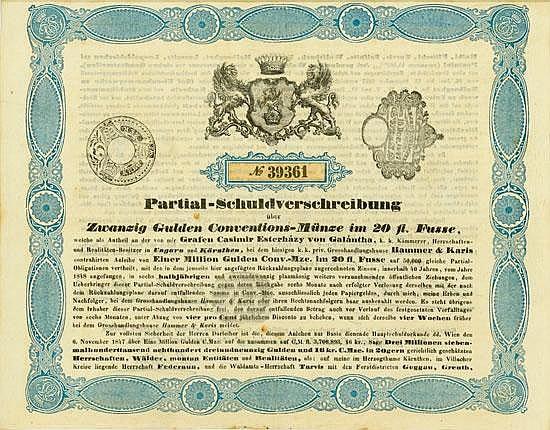 Graf Casimir Esterházy von Galátntha