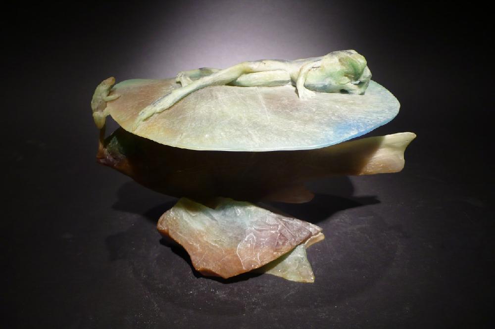 Doug Anderson Studio Glass Art Contemporary Art Glass - DIFFERENT PLANES
