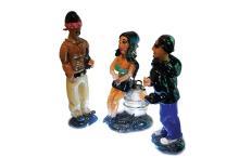 Habatat - Jamie Guerrero, My Homies, Fine Art Glass