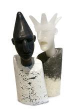 Habatat - David Reekie, Different Hats II, Glass Art