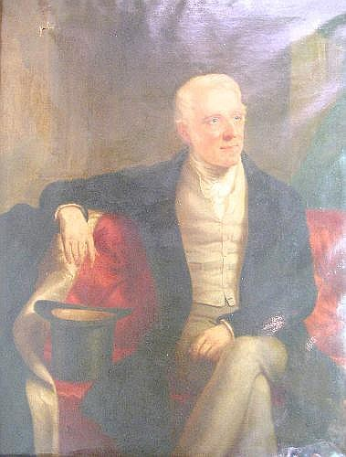 Alexander Keith RA (fl. 1836-74), 'Portrait of His